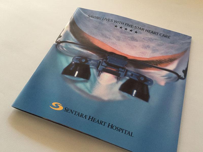 Sentara Brochure Cover